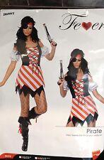 Womens Pirate Costume Size Small 6-8
