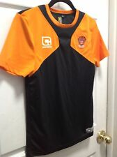 Trek Cabrini  Athletic Blackpool football  SHIRT  JERSY size SB orange black