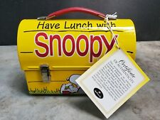 Peanuts HAVE LUNCH WITH SNOOPY Hallmark Limited Numbered Lunchbox 2000 Numbered