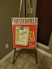 Chesterfield Tobacco Sign