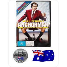 Anchorman: The Legend of Ron Burgundy - (DVD) - Region 4 - Will Ferrell