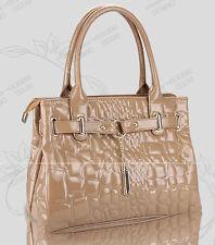 Beige luxury lady tote bag handbag