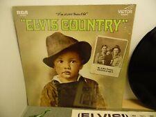 """Elvis Presley ~ """"Elvis Country"""" - LP Album"""