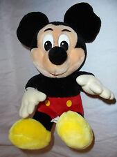 "Vintage Sitting Mickey Mouse Disneyland Tag 14"" Plush Soft Toy Stuffed Animal"