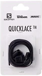 SALOMON  XT WINGS XA PRO QUICK LACES LACE KIT BLACK QUICKLACE 326672