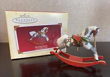 New Listing2005 Hallmark Keepsake Special Edition Rocking Horse Christmas Tree Ornament
