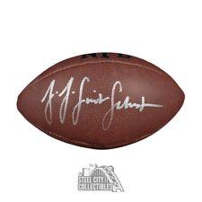 fe1fe622466 JuJu Smith-Schuster Autographed NFL Wilson All Pro Football - JSA COA
