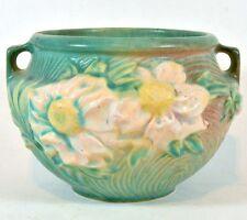 Vintage ROSEVILLE Peony Jardiniere #661-4 Circa 1942