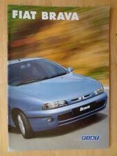 FIAT BRAVA orig 1998 1999 UK Mkt sales brochure