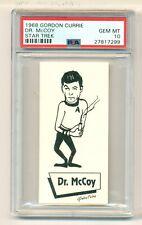 1968 GORDON CURRIE STAR TREK DR McCOY PSA 10 GEM MINT !!
