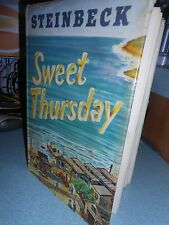 John Steinbeck SWEET THURSDAY 1954 1st Edition Book with Jacket