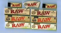 Raw Hemp King Size Rolling Papers, Kingsize Organic And Raw Tips, Cone Tip Set