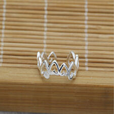 Celebrity fashion simple retro heart-shaped design toe ring foot jewelry dfag