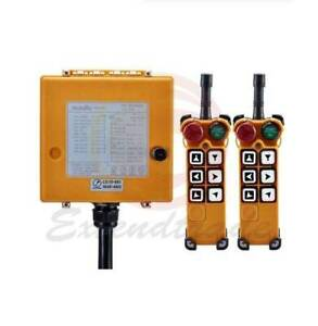 6Key Crane Industrial Remote Control Wireless Transmitter Push Button Switch