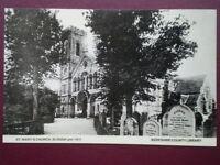 POSTCARD BERKSHIRE SLOUGH - ST MARY'S CHURCH PRE 1913