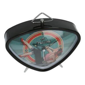 2x FRUTTINI-Retro-Wecker-mit-Alarm-Vintage-Rock,Uhr, Model A