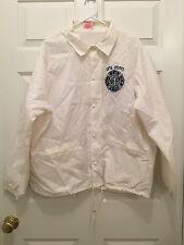 New York City Uniformed Firefighter Association UFA-FDNY NYC White Jacket XL