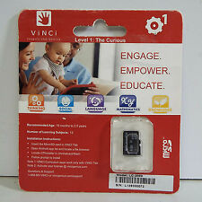 VINCI MICRO SD CARD FOR VINCI TABLET THE CURIOUS LEVEL 1 - LC-2000 (S800)