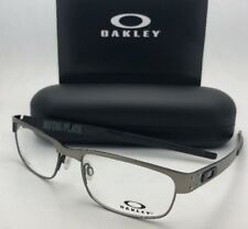 56cf95b0fea Authentic Oakley Metal Plate Titanium Light Eyeglasses Frame Ox 5038 22-200