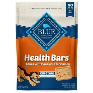 Blue Buffalo Health Bars Baked With Pumpkin & Cinnamon Dog Snacks 16 oz