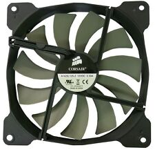 Corsair 14CM 140mm Black Grey Fins Fan Cooler Case PC Computer Cooling 3 Pin