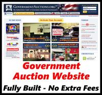 Website For Sale - Auction Business - Make Money - Home Online Affiliate