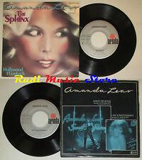 "LP 45 7"" AMANDA LEAR The sphinx Hollywood flashback germany ARIOLA cd mc dvd vhs"
