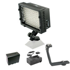 Pro 12 LED video light F970 for Sony MC2000U EA50UH Z100 FS100U VG30 VG900 AVCHD