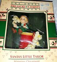 The Enesco Treasury Of Christmas SANTA'S LITTLE TAILOR