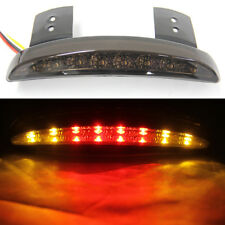 Motorcycle Fender Red LED Tail Brake light Turn Signals Bobber Chopper Universal