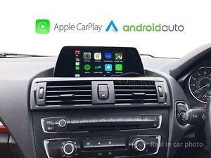 "Wireless Apple CarPlay Wired Android Auto BMW X1 F20 1 2 series 6.5"" 11-16 NBT"