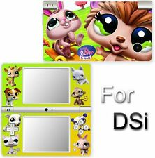 Littlest Pet Shop SKIN COVER STICKER for Nintendo DSi 3