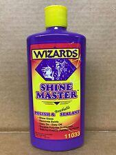 Wizards Shine Master Professional Detailing Polish & Sealant 16oz Bottle 11033