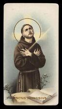 santino-holy card ediz. NB  n.257 S.FRANCESCO D'ASSISI