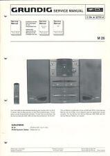 Grundig-m 26-Service Manual guía gráfico-b7486
