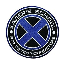 Marvel X-Men Logo Xavier's School Patch Gifted Youngsters Disney IronOn Applique