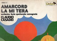 CLAUDIO CASADEI ORCHESTRA disco LP 33 g. AMARCORD LA MI TERA made in ITALY 1976