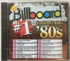 BILLBOARD #1 Country Hits of the 80s CD - Various Artists - New