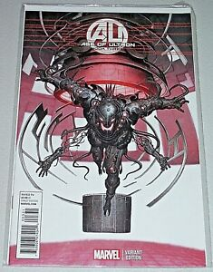 Age Of Ultron #3! (2013) Rare Rock-He Kim 1-in-25 Variant! NM!