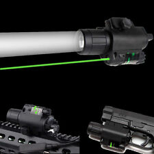 Tactical Green Laser Sight Scope LED Flashlight Combo Picatinny Rail Mount