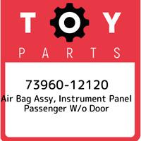 73960-12120 Toyota Air bag assy, instrument panel passenger w/o door 7396012120,
