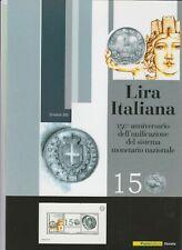 "Folder di 6 pag "" LIRA ITALIANA"""