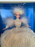 SNOW PRINCESS BARBIE DOLL 1994 ENCHANTED SEASONS 1st in Collection MATTEL NRFB