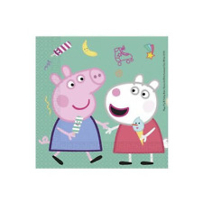 Peppa Pig Birthday Party Lunch Napkins - 20 Pack