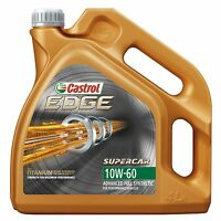 4 Litres Castrol EDGE Supercar 10W-60 Fully Synthetic Performance Car Engine Oil