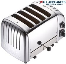 DUALIT TOASTER 4 SLICE 40378 POLISHED STAINLESS STEEL WITH 5 YEAR WTY HEIDELBERG