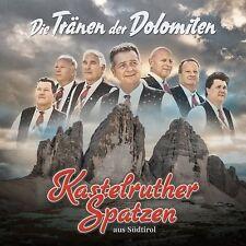 KASTELRUTHER SPATZEN - DIE TRÄNEN DER DOLOMITEN   CD NEU
