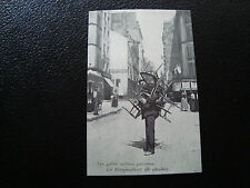 FRANCE - carte (reproduction) (paris , le rempailleur de chaises) (cy68) french