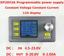 DP20V2A CVCC Programmable Control Step-down Power Supply Modul LCD Display Neu