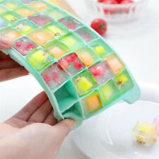 Grids Mini Small Ice Cube Tray Frozen Cubes Tray Silicone Ice Maker Mold FW